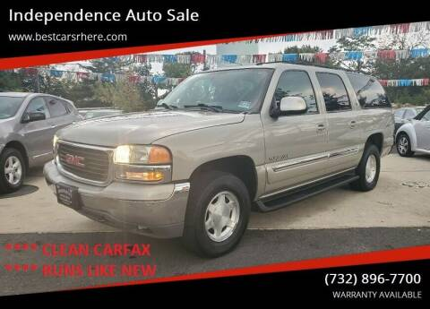 2004 GMC Yukon XL for sale at Independence Auto Sale in Bordentown NJ