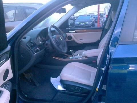2013 BMW X3 for sale at ATLANTIC MOTORS GP LLC in Houston TX