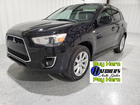 2015 Mitsubishi Outlander Sport for sale at Hatcher's Auto Sales, LLC - Buy Here Pay Here in Campbellsville KY