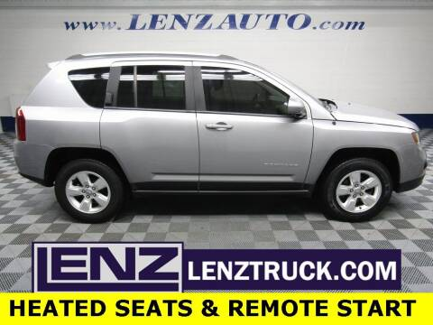 2016 Jeep Compass for sale at LENZ TRUCK CENTER in Fond Du Lac WI