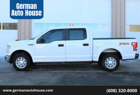 2015 Ford F-150 for sale at German Auto House in Fitchburg WI