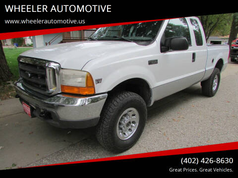 1999 Ford F-250 Super Duty for sale at WHEELER AUTOMOTIVE in Blair NE