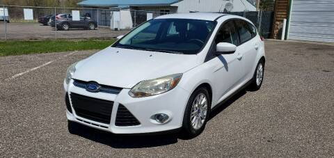 2012 Ford Focus for sale at Transmart Autos in Zimmerman MN