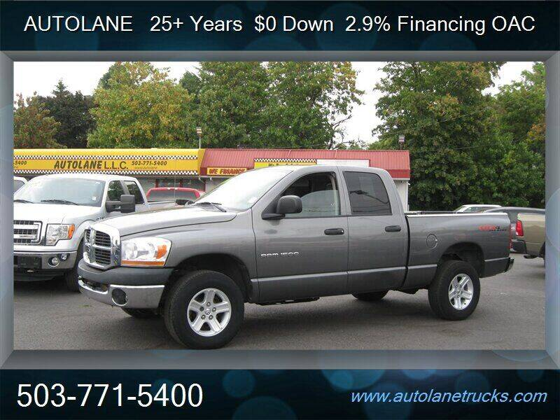 2006 Dodge Ram Pickup 1500 for sale at Auto Lane in Portland OR