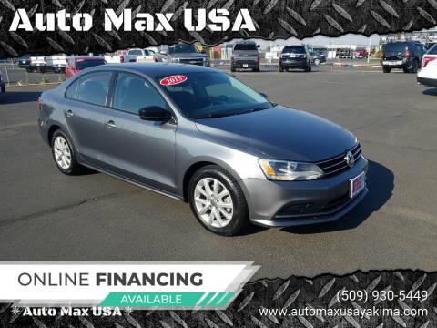 2015 Volkswagen Jetta for sale at Auto Max USA in Yakima WA