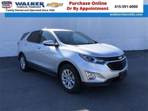 2018 Chevrolet Equinox for sale at WALKER CHEVROLET in Franklin TN