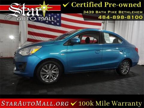 2018 Mitsubishi Mirage G4 for sale at STAR AUTO MALL 512 in Bethlehem PA
