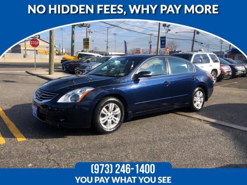 2010 Nissan Altima for sale at Route 46 Auto Sales Inc in Lodi NJ