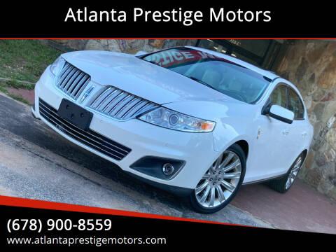 2012 Lincoln MKS for sale at Atlanta Prestige Motors in Decatur GA