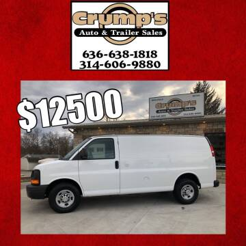 2014 Chevrolet Express Cargo for sale at CRUMP'S AUTO & TRAILER SALES in Crystal City MO