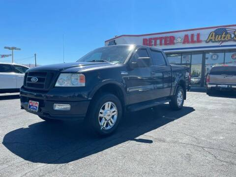 2004 Ford F-150 for sale at Better All Auto Sales in Yakima WA