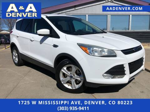 2015 Ford Escape for sale at A & A AUTO LLC in Denver CO