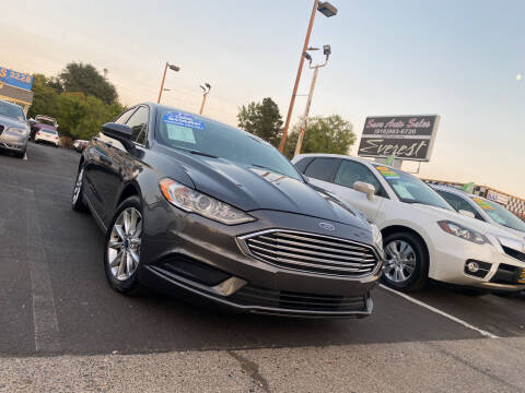 2017 Ford Fusion Hybrid for sale at Save Auto Sales in Sacramento CA