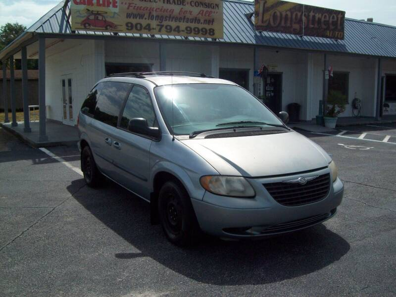 2004 Chrysler Town and Country for sale at LONGSTREET AUTO in Saint Augustine FL