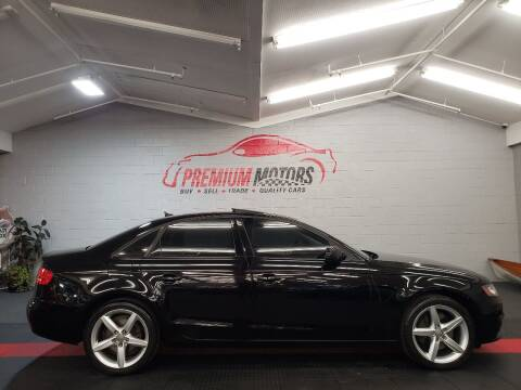 2010 Audi A4 for sale at Premium Motors in Villa Park IL