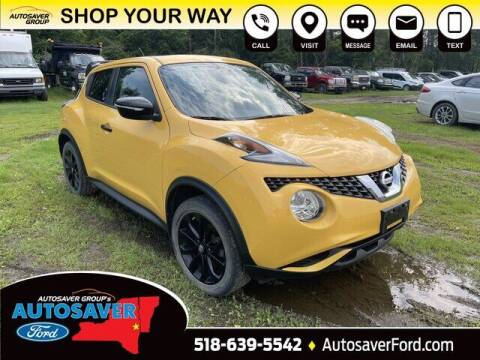 2016 Nissan JUKE for sale at Autosaver Ford in Comstock NY