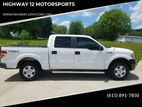 2012 Ford F-150 for sale at HIGHWAY 12 MOTORSPORTS in Nashville TN