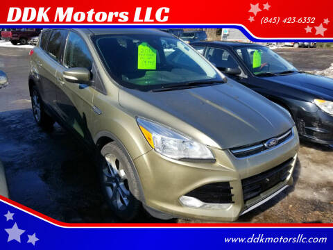 2013 Ford Escape for sale at DDK Motors LLC in Rock Hill NY