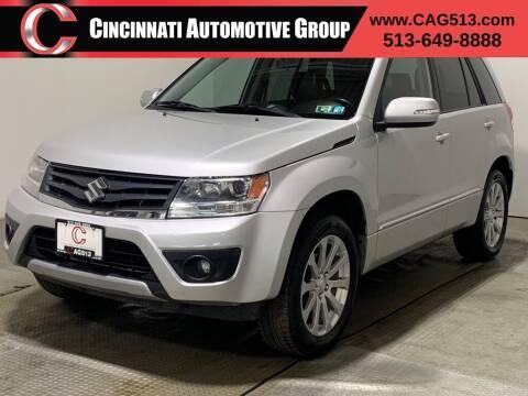 2013 Suzuki Grand Vitara for sale at Cincinnati Automotive Group in Lebanon OH