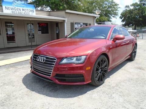 2012 Audi A7 for sale at New Gen Motors in Lakeland FL