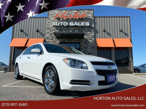 2012 Chevrolet Malibu for sale at HORTON AUTO SALES, LLC in Linn MO