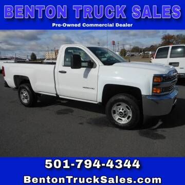 2016 Chevrolet Silverado 2500HD for sale at Benton Truck Sales in Benton AR
