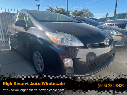2011 Toyota Prius for sale at High Desert Auto Wholesale in Albuquerque NM