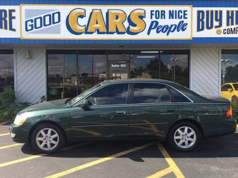 2000 Toyota Avalon for sale at Good Cars 4 Nice People in Omaha NE