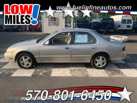 1995 Nissan Altima for sale at FUELIN FINE AUTO SALES INC in Saylorsburg PA