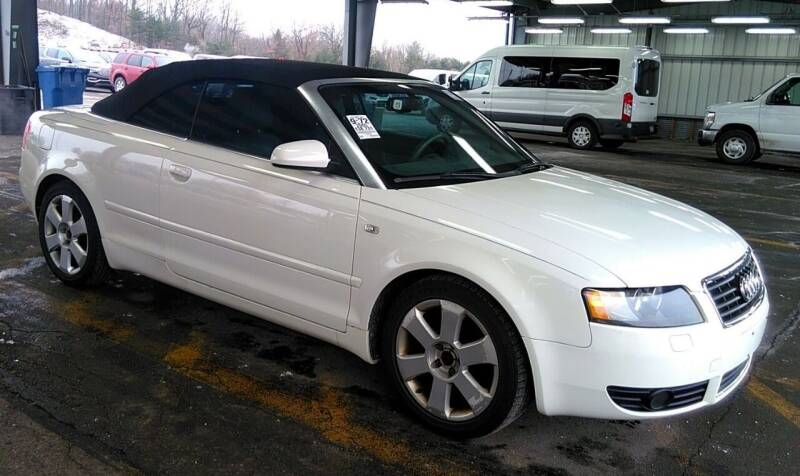 2005 Audi A4 for sale at Angelo's Auto Sales in Lowellville OH