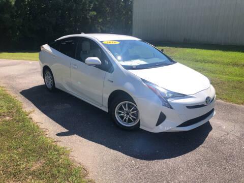 2016 Toyota Prius for sale at J. MARTIN AUTO in Richmond Hill GA