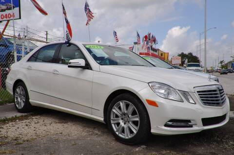 2013 Mercedes-Benz E-Class for sale at INTERNATIONAL AUTO BROKERS INC in Hollywood FL