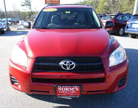 2011 Toyota RAV4 for sale at NORM'S USED CARS INC - Trucks By Norm's in Wiscasset ME