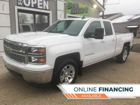 2015 Chevrolet Silverado 1500 for sale at MARIETTA MOTORS LLC in Marietta OH