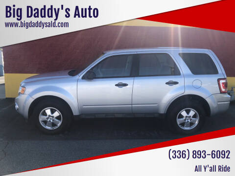 2011 Ford Escape for sale at Big Daddy's Auto in Winston-Salem NC