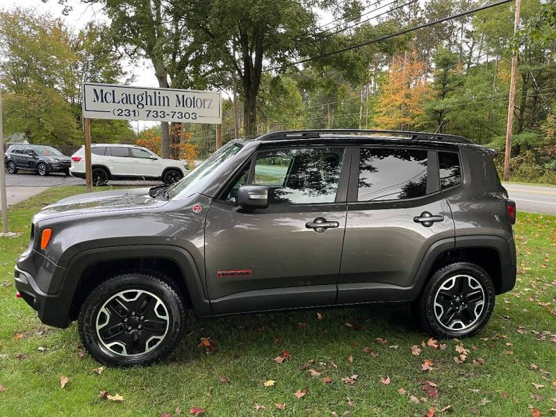 2017 Jeep Renegade for sale at McLaughlin Motorz in North Muskegon MI