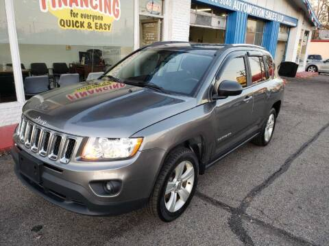 2013 Jeep Compass for sale at AutoMotion Sales in Franklin OH