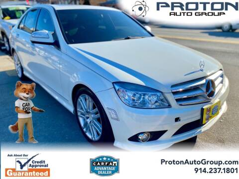 2008 Mercedes-Benz C-Class for sale at Proton Auto Group in Yonkers NY