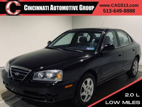 2004 Hyundai Elantra for sale at Cincinnati Automotive Group in Lebanon OH