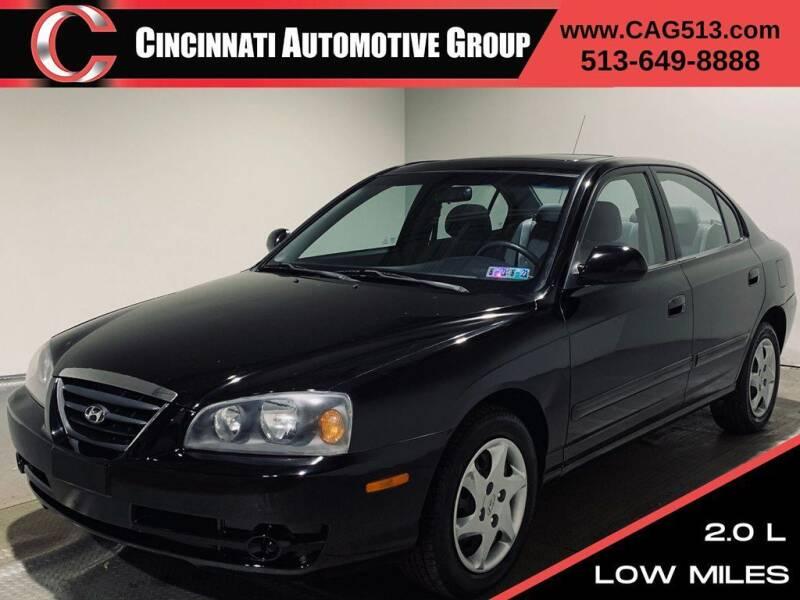2004 Hyundai Elantra for sale at Cincinnati Automotive Group in Lebanon OH
