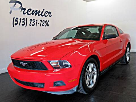 2012 Ford Mustang for sale at Premier Automotive Group in Milford OH
