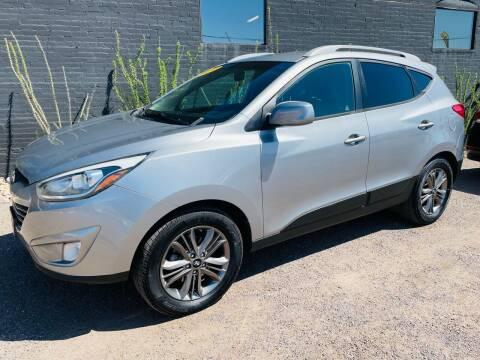 2014 Hyundai Tucson for sale at Fast Trac Auto Sales in Phoenix AZ