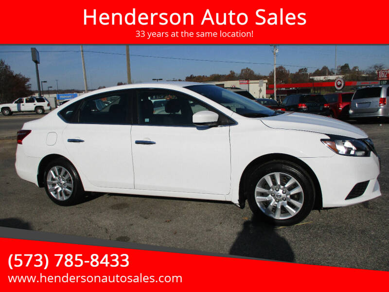 2017 Nissan Sentra for sale at Henderson Auto Sales in Poplar Bluff MO
