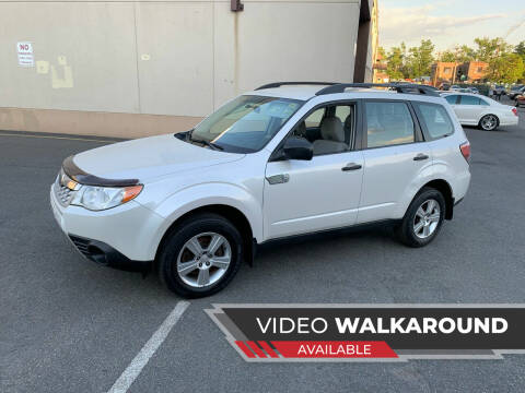 2011 Subaru Forester for sale at Eastclusive Motors LLC in Hasbrouck Heights NJ