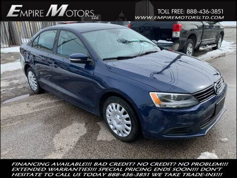 2012 Volkswagen Jetta for sale at Empire Motors LTD in Cleveland OH