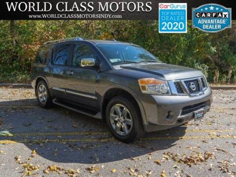 2012 Nissan Armada for sale at World Class Motors LLC in Noblesville IN