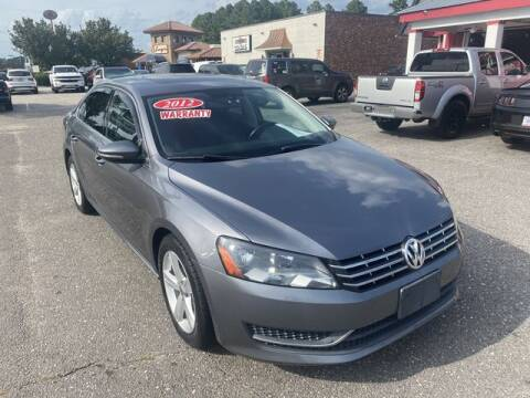 2012 Volkswagen Passat for sale at Sell Your Car Today in Fayetteville NC