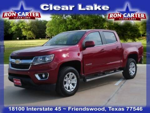 2019 Chevrolet Colorado for sale at Ron Carter  Clear Lake Used Cars in Houston TX