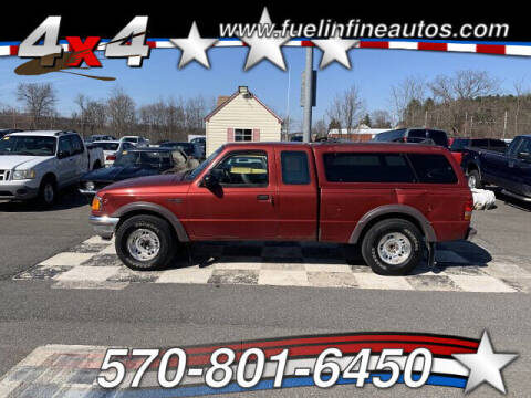 1997 Ford Ranger for sale at FUELIN FINE AUTO SALES INC in Saylorsburg PA