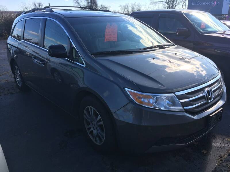 2012 Honda Odyssey for sale at MELILLO MOTORS INC in North Haven CT